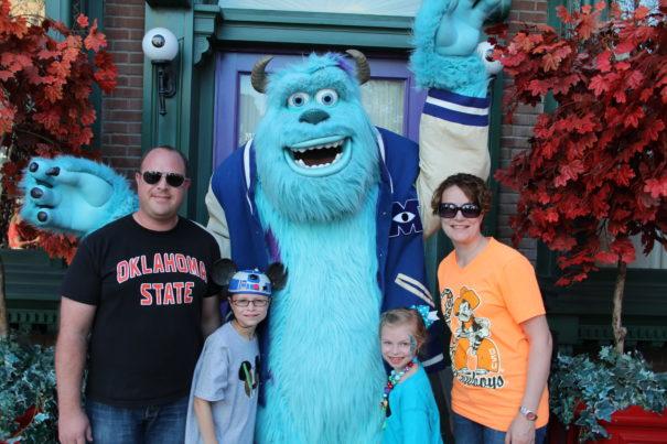 Sully at Disneyland California