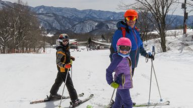 Skiing Japan with kids Hakuba