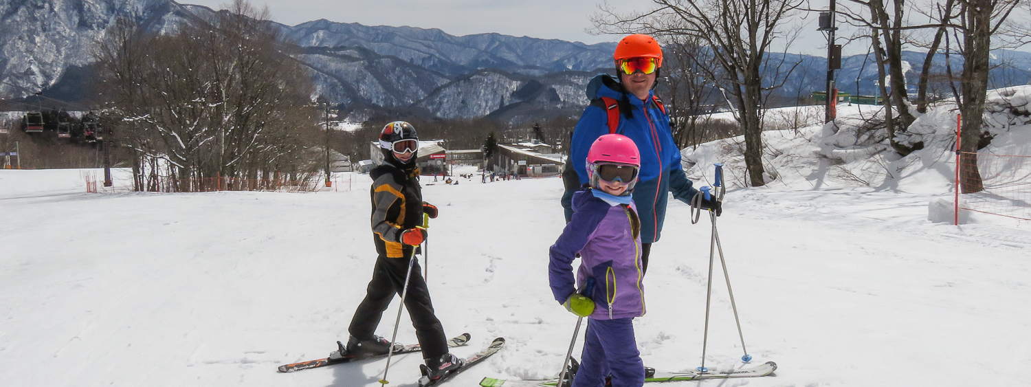 Skiing the Japanese Alps with Kids