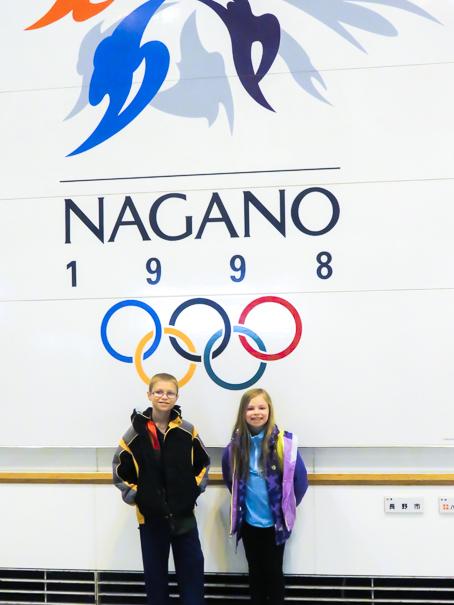 Japan with kids Nagano Japan 1998 Olympics