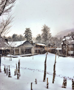 Sierra Resort Hotel Hakuba skiing in Japan with kids
