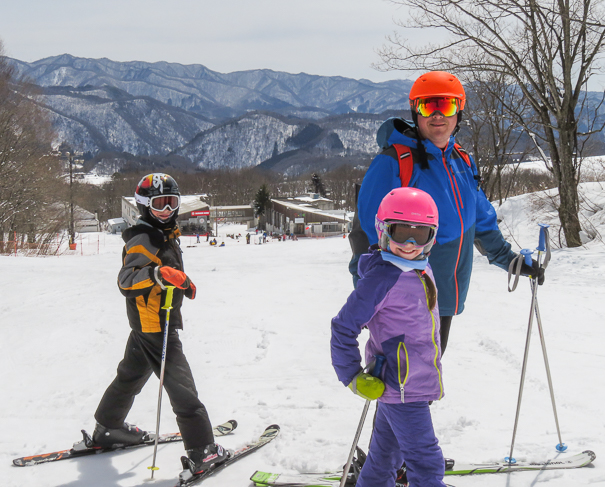 Tsugaike Kogen Resort Hakuba Japan - skiing Japan with kids