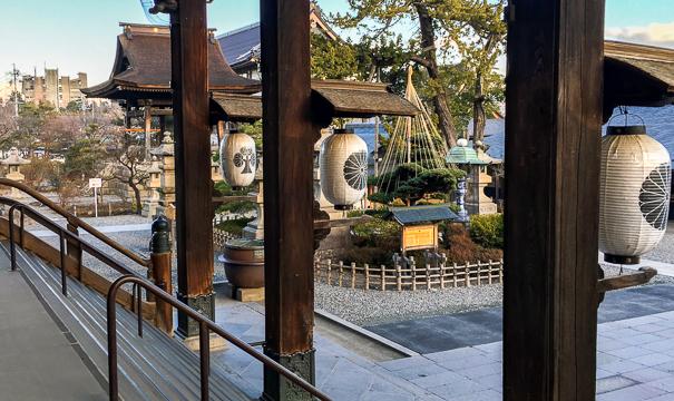 Zenko-ji Temple Nagano Japan with kids