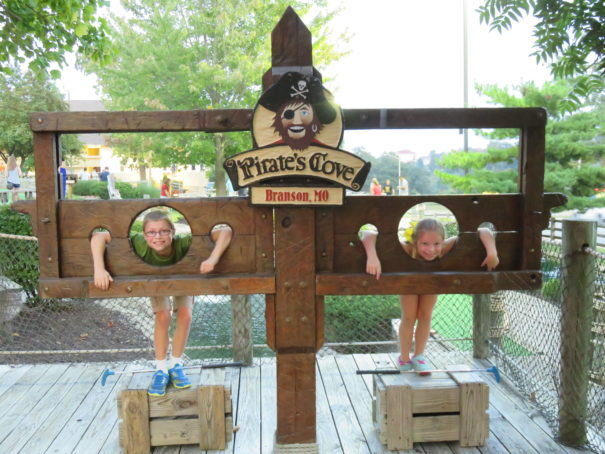Pirate's Cove Adventure Golf. Branson, MO