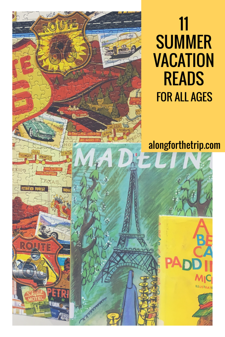 Are you looking for some great books to add to your summer reading list before you head out on vacation? Check out the AftT list with selections for the entire family. | #familytravel #books #reading