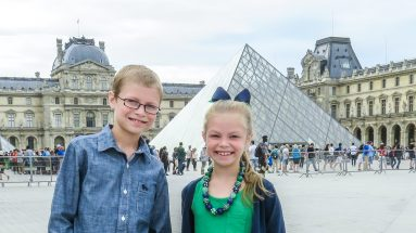 Paris with kids Louvre Museum