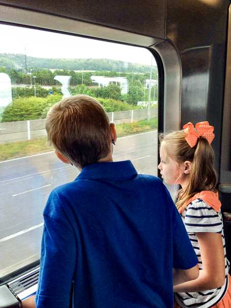 Ride the Eurostar - things for kids in Paris