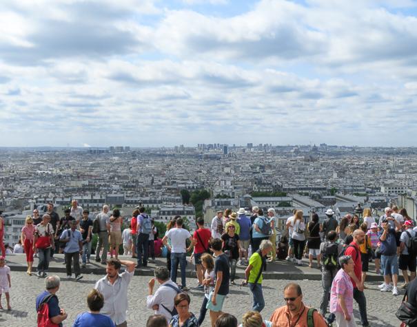 Sacré-Cœur Paris with kids