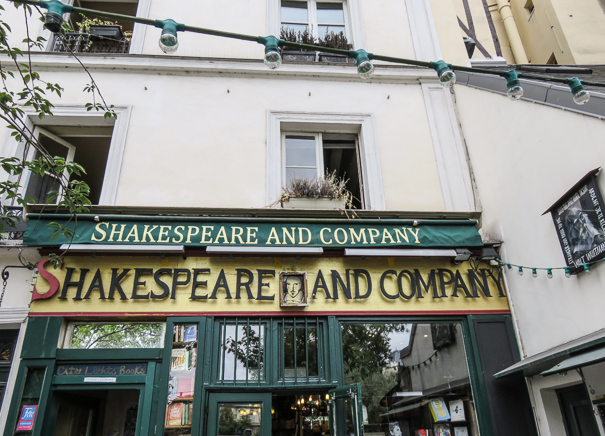 Shakespeare and Company bookstore - best free things to do in Paris
