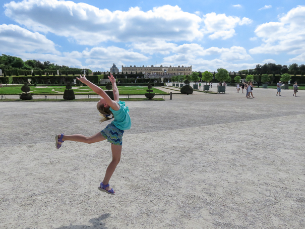 Versailles Paris with kids
