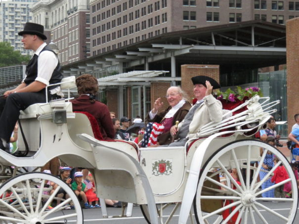 4th of July Parade in Philadelphia - Ben Franklin