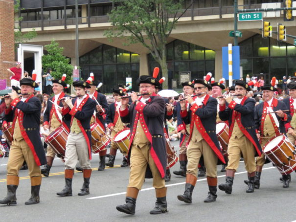 4th of July Parade in Philadelphia - Drum and Fife Band