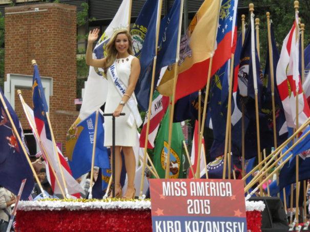 Miss America 2015 - July 4th Parade in Philadelphia