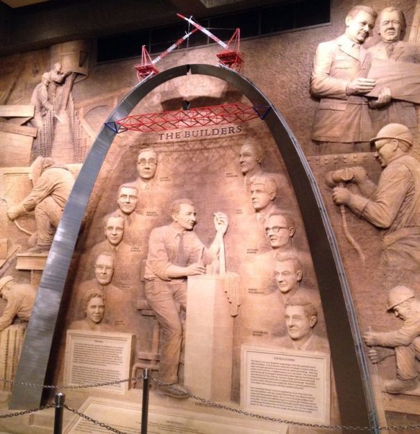 The Museum of Westward Expansion - A must-see for any St. Louis family vacation.