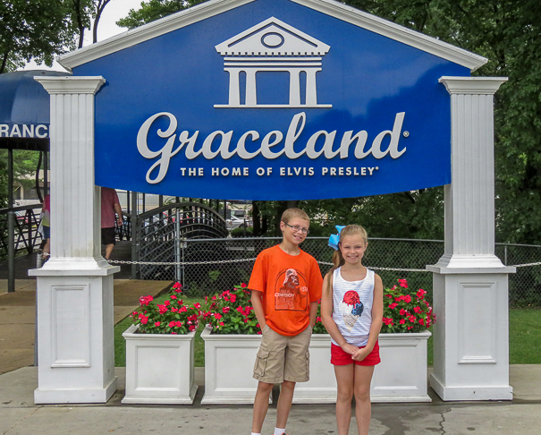 Memphis Tennessee - Graceland with kids