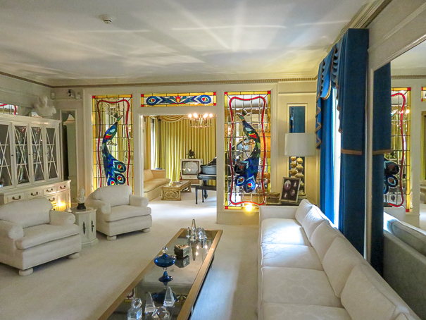 Elvis's Living Room - Graceland with kids