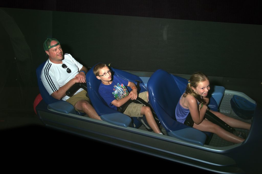 Space Mountain! Wheee!