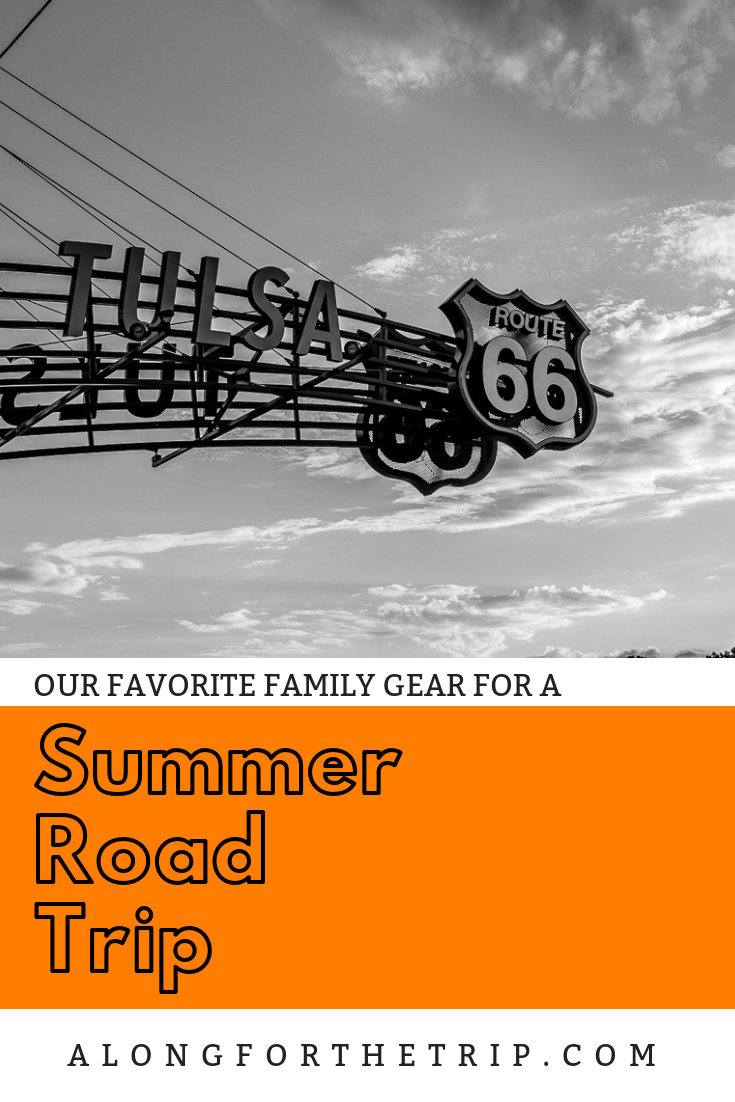 We love a good summer road trip here at AftT, but we don't pull out of the garage until we have these things checked off our list. Add this gear to your list to help make your summer road trip more fun. Happy kids - happy trip! | #familytravel #roadtrip