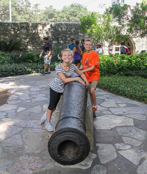 Visiting San Antonio with kids