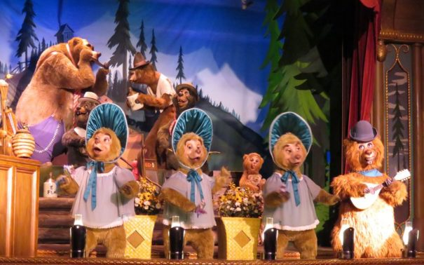 Disney's Country Bear Jamboree.