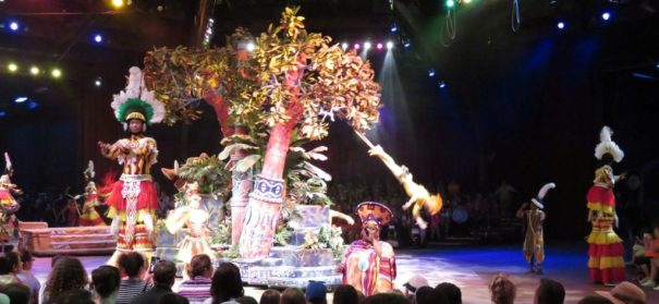 Festival of the Lion King at Disney's Animal Kingdom.