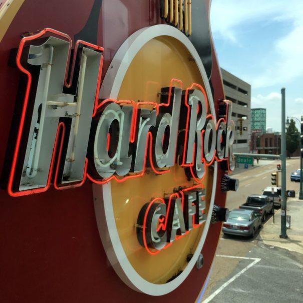 Hard Rock Cafe Memphis T Shirt