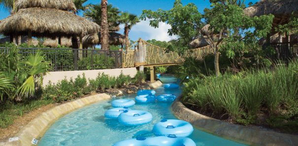 Hyatt Coconut Plantation Lazy River - best Gulf Coast family resorts