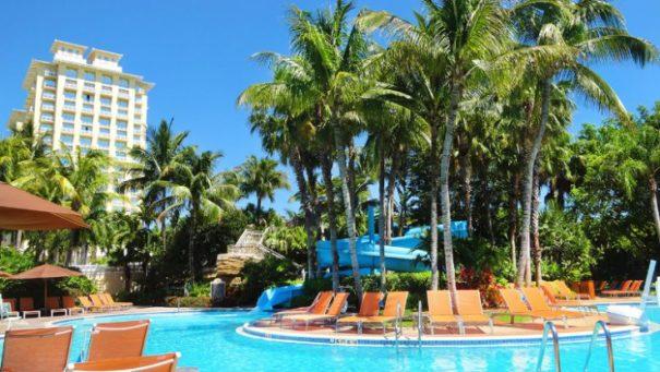 Hyatt Regency Coconut Point Resort and Spa Slide - family resorts on the Gulf Coast
