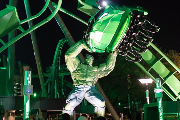 Incredible Hulk Coaster Universal Orlando Resort