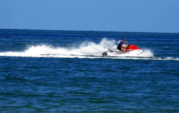Jet Skiing at Bonita Beach, FL