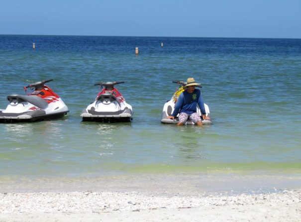 Jet Skis for rent at Bonita Jet Ski and Parasail