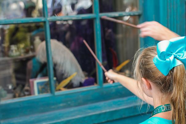 Magic at Universal Orlando Resort Florida