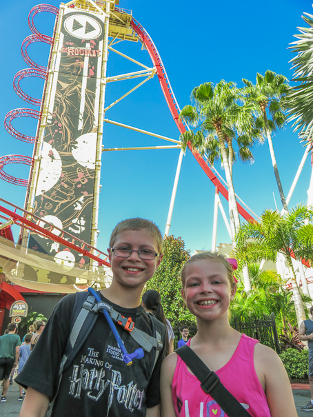 Universal Orlando Resort Rip Ride Rocket