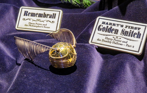 Golden Snitch - Harry Potter tour London