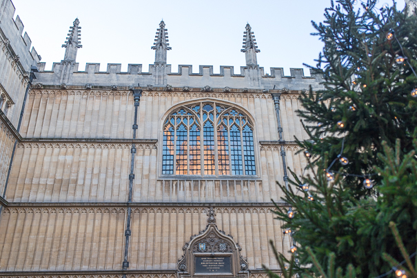 Harry Potter sites at Oxford University