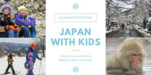 Skiing in Japan with kids