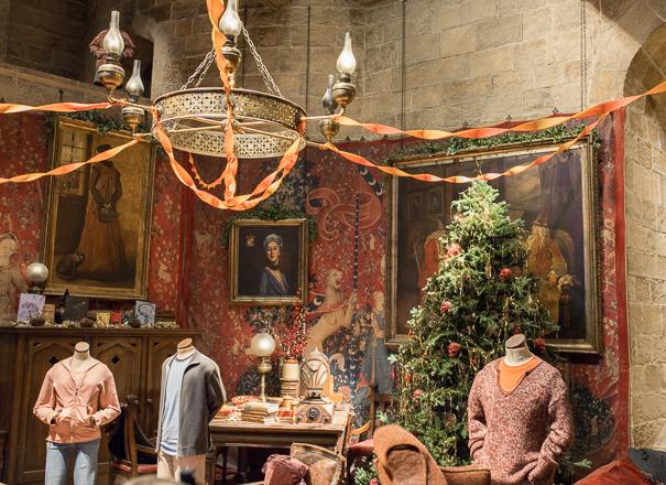 Hogwarts in the Snow - WB Studio Tour London