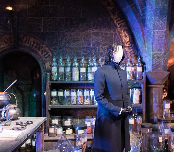 Professor Snape's potions classroom at WB Studio Tour London