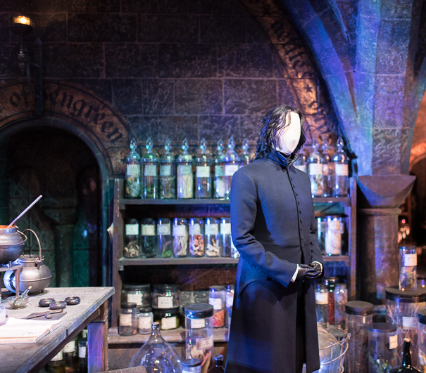 Professor Snape's potions classroom at WB Studio Tour London