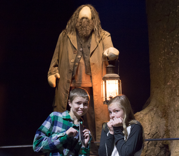 Hagrid and the Forbidden Forest at WB Studio Tour London