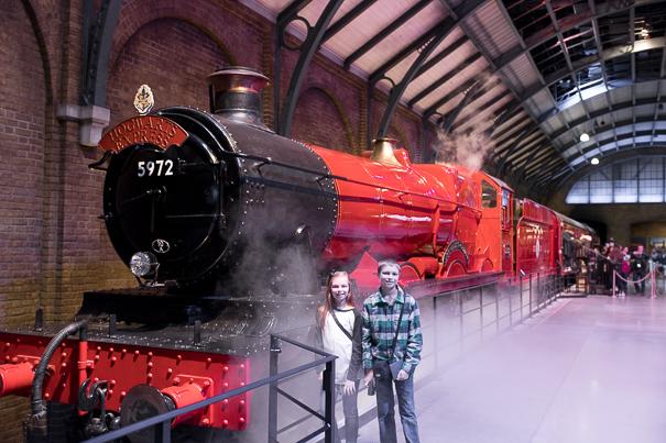 Hogwart's Express - best Harry Potter sites in London