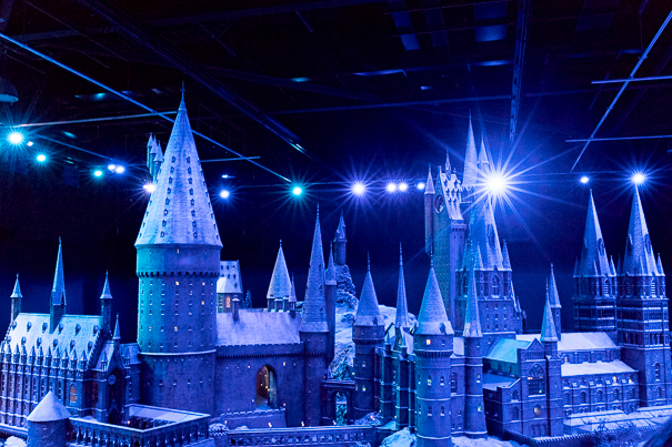Hogwart's Castle at WB Studio Tour London - best Harry Potter sites in London