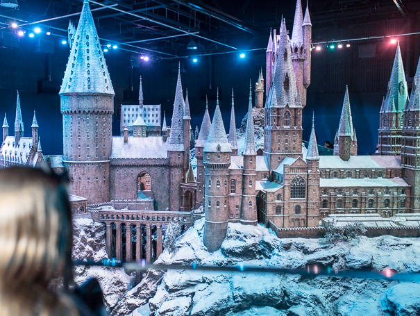 Hogwarts in the Snow - WB Studio Tour London