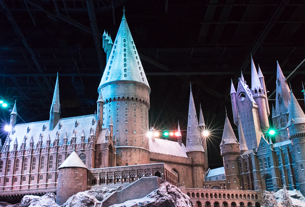 Hogwart's Castle at WB Studio Tour London