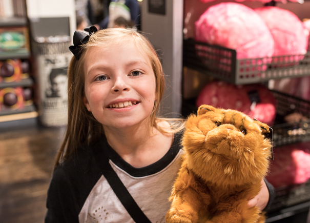 WB Studio Tour London gift shop - best Harry Potter tours for kids