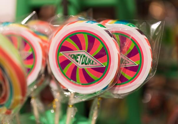 Honeyduke's candy at WB Tour London