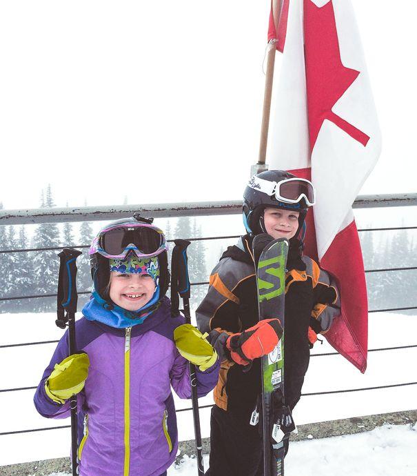 Whistler ski trip with kids