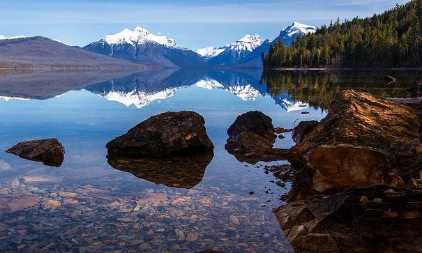 Glacier NP Credit: Jacob W. Frank - National Park Service Centennial