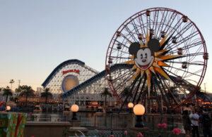 Disneyland California at Thanksgiving