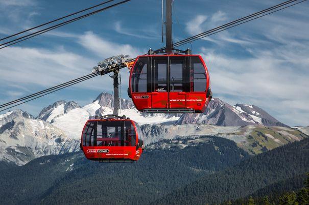 ski trips to Whistler include a ride on the Peak 2 Peak Gondola
